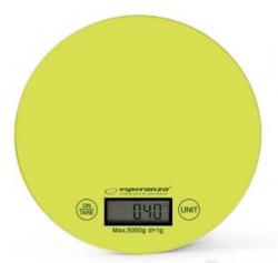 Весы кухонные Esperanza Scales EKS003G Green