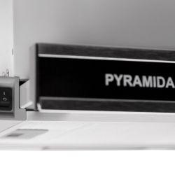 Вытяжка Pyramida TL 60 glass inox/black - Картинка 4