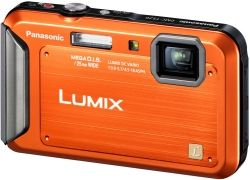 Panasonic Lumix DMC-TS20D orange