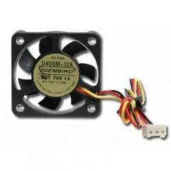 Gembird D40SM-12A, 40x40x10мм, 70мм кабель 3-pin