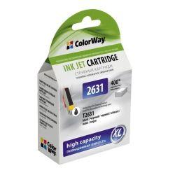 Картридж ColorWay для Epson 26, Black Photo, XP-600/605/700, (CW-EPT2631)