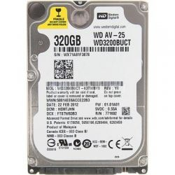 "Western Digital 2.5"" 320Gb AV-25, SATA2, 16Mb, 5400 rpm (WD3200BUCT)"